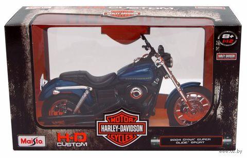 "Модель мотоцикла ""Harley-Davidson Dyna Super Glide Sport"" (масштаб: 1/12) — фото, картинка"