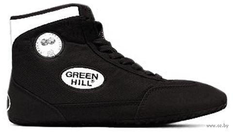 Обувь для борьбы GWB-3052/GWB-3055 (р. 42; чёрно-белая) — фото, картинка