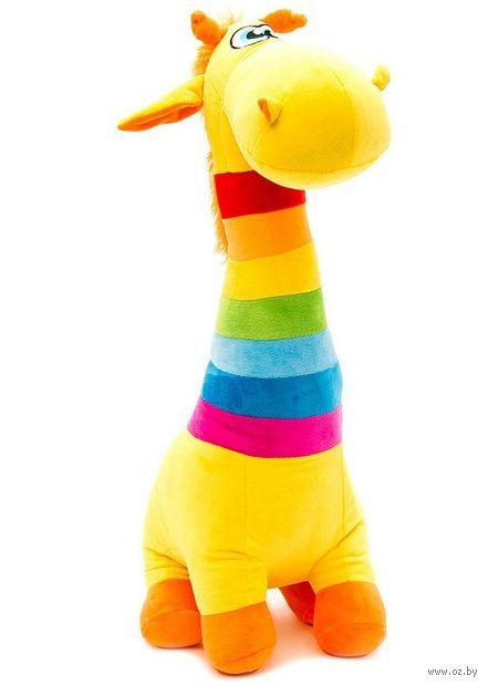 """Мягкая игрушка """"Радужный жираф"""" (54 см) — фото, картинка"""