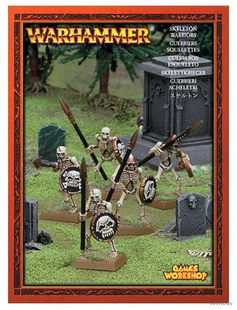 Warhammer Age of Sigmar. Skeleton. Warriors (35-30) — фото, картинка