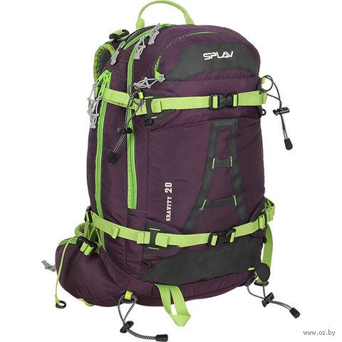"""Рюкзак """"Gravity 20"""" (20 л; фиолетово-салатовый) — фото, картинка"""