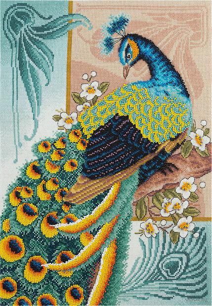 "Набор для вышивания ""Птица счастья"" (285х400 мм) — фото, картинка"