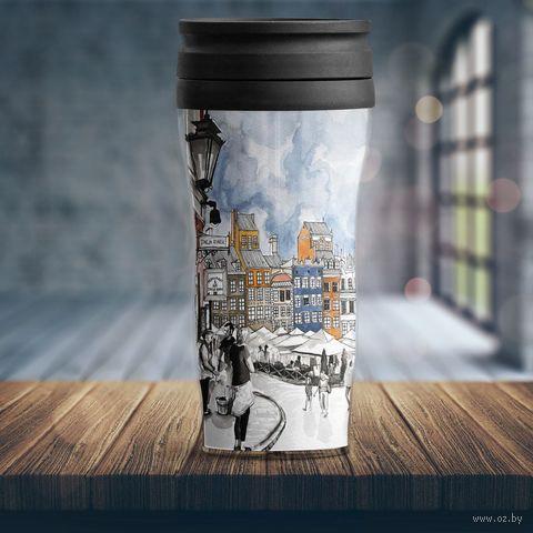 """Термостакан """"Городской пейзаж"""" — фото, картинка"""