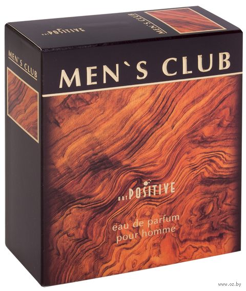 "Парфюмерная вода для мужчин ""Men's Club"" (90 мл) — фото, картинка"
