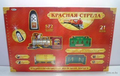"""Радиоуправляемая железная дорога """"Красная стрела"""""""