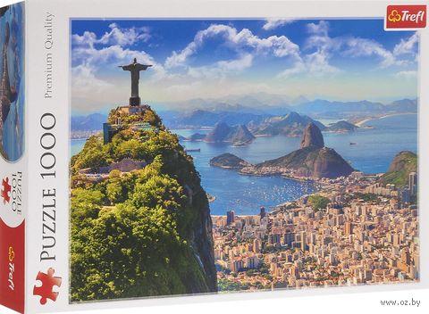 "Пазл ""Рио-де-Жанейро"" (1000 элементов) — фото, картинка"