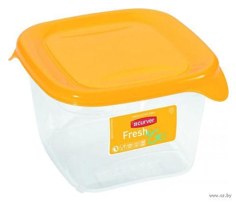 """Контейнер для хранения продуктов """"Fresh&Go"""" (0,45 л; желтый) — фото, картинка"""