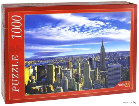 "Пазл ""Панорама Нью-Йорка"" (1000 элементов) — фото, картинка"