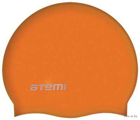 Шапочка для плавания (оранжевая; арт. SC106) — фото, картинка