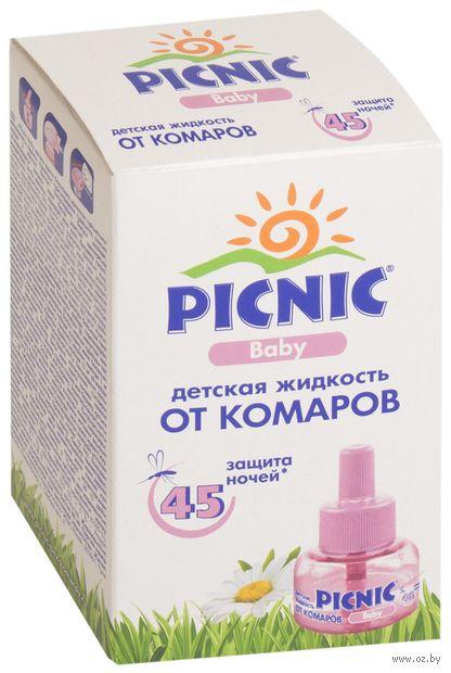 """Жидкость от комаров детская """"Picnic Baby. 45 ночей"""" (30 мл) — фото, картинка"""