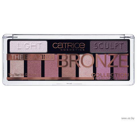 "Палетка теней для век ""The Blazing Bronze Collection"" тон: 010 — фото, картинка"