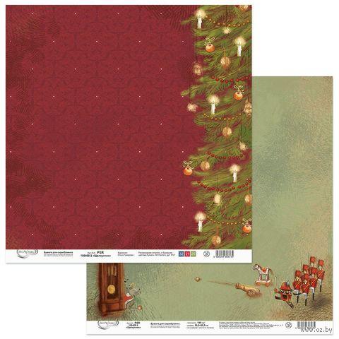 "Набор бумаги для скрапбукинга ""Щелкунчик"" (305х305 мм) — фото, картинка"