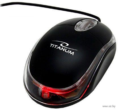 Оптическая мышь Titanum TM102 3D (Black) — фото, картинка