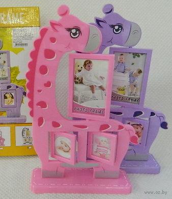 Рамка для фото пластмассовая (20,3*8,5*31,5 см, арт. AAA501680)
