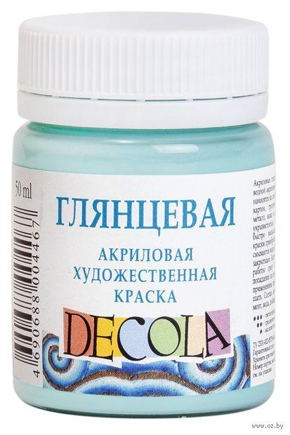 "Краска акриловая глянцевая ""Decola"" (мятный, 50 мл)"