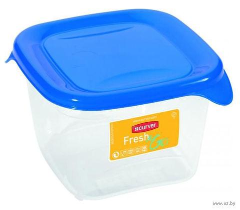 """Контейнер для хранения продуктов """"Fresh&Go"""" (0,45 л; синий)"""