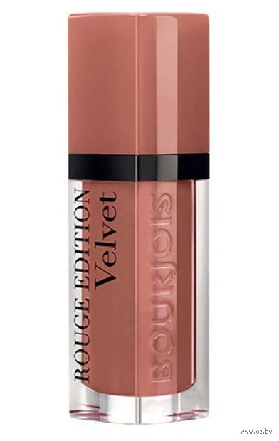 """Помада-флюид для губ """"Rouge edition velvet"""" (тон: 17, коричневый нюд) — фото, картинка"""