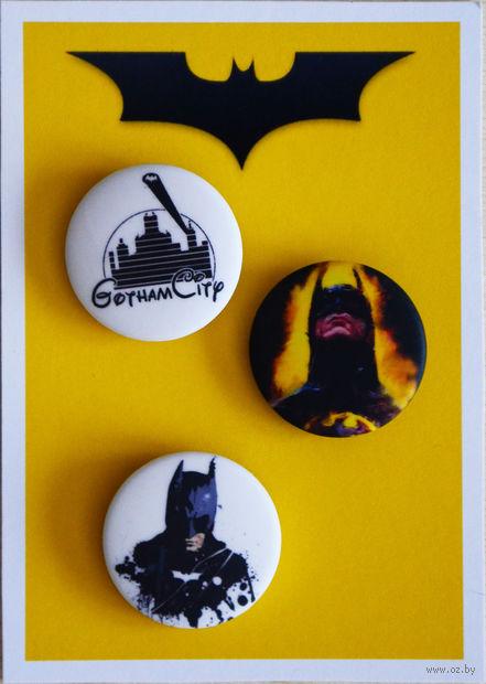 """Набор значков маленьких """"Batman"""" (арт. 529) — фото, картинка"""
