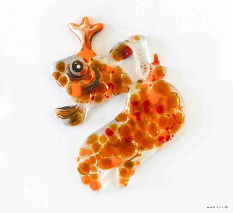 """Ёлочное украшение """"Золотая рыбка"""" (арт. ЕС-47) — фото, картинка"""