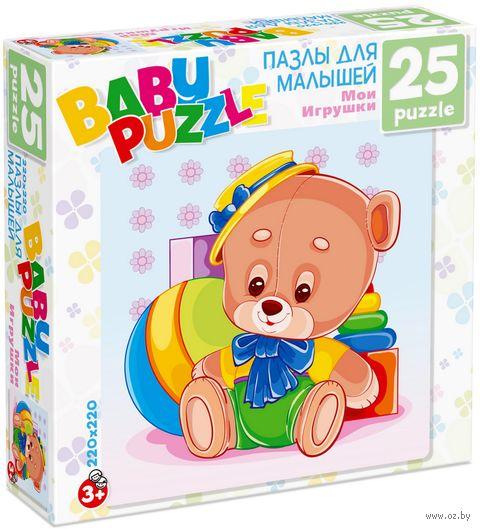 "Пазл ""Baby Puzzle. Медведь"" (25 элементов) — фото, картинка"