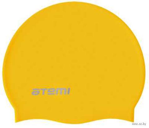 Шапочка для плавания (жёлтая; арт. SC107) — фото, картинка