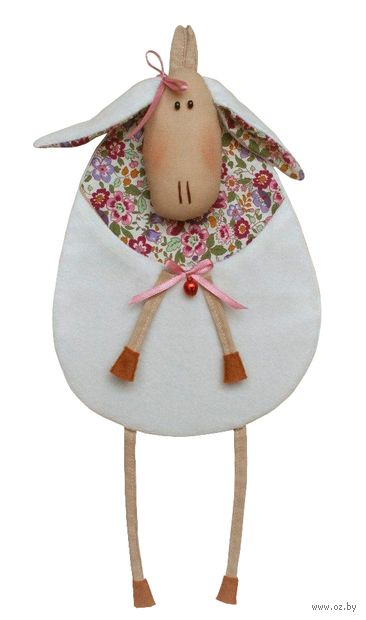 "Набор для шитья из ткани ""Овечка-карман"" — фото, картинка"