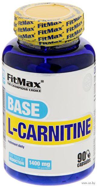 """Л-карнитин """"L-Carnitine Base"""" (90 капсул) — фото, картинка"""