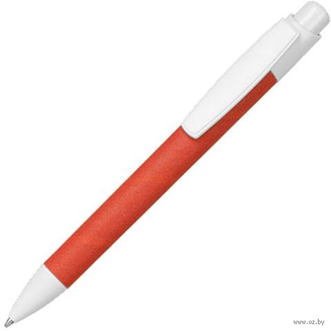 Ручка шариковая, ECO TOUCH (красная)