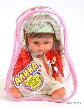 """Музыкальная кукла """"Алина"""" (арт. Д19320)"""