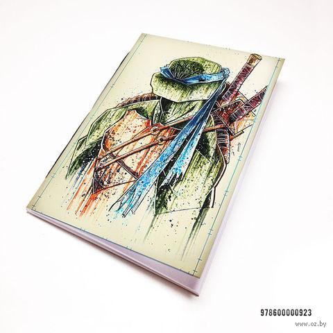 """Блокнот """"Черепашки ниндзя"""" (А7; арт. 923) — фото, картинка"""