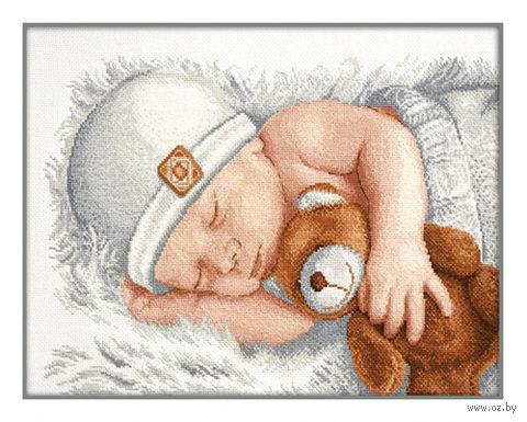 """Вышивка крестом """"Маленькое счастье"""" (310x220 мм) — фото, картинка"""