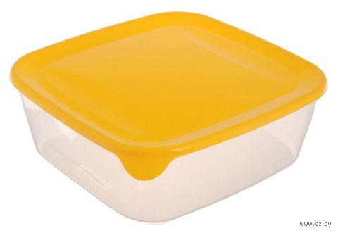 """Контейнер для хранения продуктов """"Fresh&Go"""" (1,7 л; желтый)"""