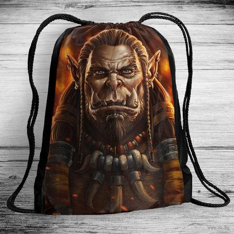 """Рюкзак-мешок """"Варкрафт"""" (арт. 2) — фото, картинка"""
