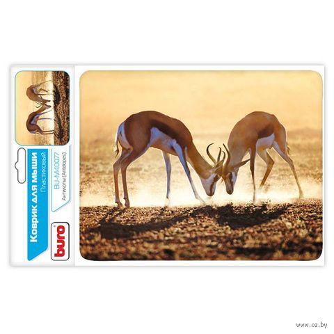 Коврик для мыши Buro BU-M40077 (рисунок/антилопы) — фото, картинка