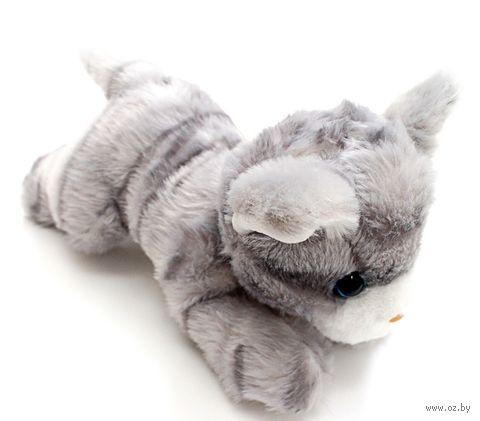"""Мягкая игрушка """"Котёнок"""" (23 см; серый) — фото, картинка"""