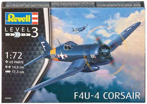 """Сборная модель """"Истребитель F4U-4 Corsair"""" (масштаб: 1/72) — фото, картинка"""
