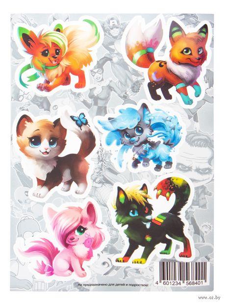"Набор виниловых наклеек ""Chibi Animals №1"" — фото, картинка"