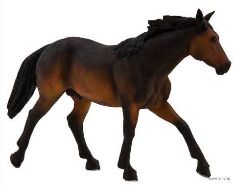 """Фигурка """"Animal Planet: Ковбойская лошадь рыжая"""""""