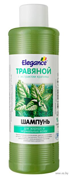 """Шампунь для волос """"Травяной. С экстрактом крапивы"""" (1 л)"""