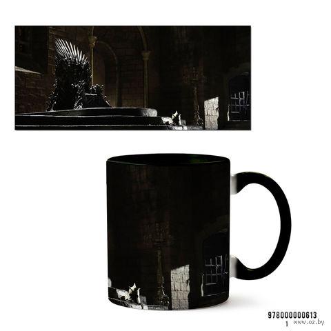 """Кружка """"Игра престолов"""" (черная; арт. 0613) — фото, картинка"""