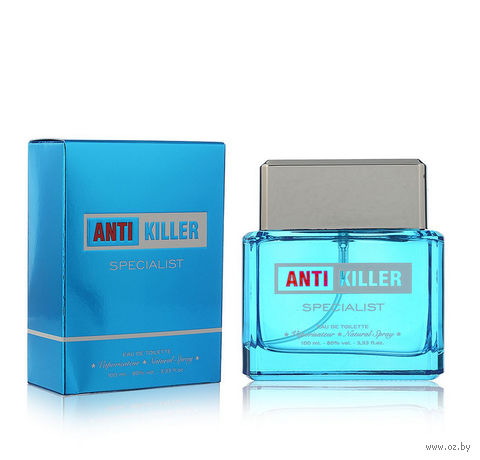 "Туалетная вода для мужчин ""Antikiller Specialist"" (100 мл) — фото, картинка"