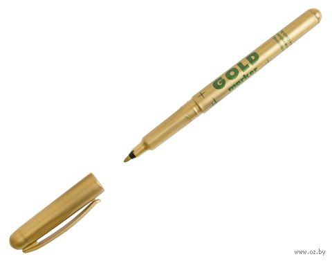 """Маркер """"Gold"""" для письма по любой поверхности"""