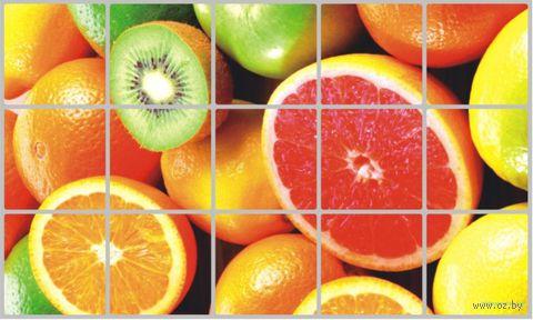 """Экран защитный кухонный """"Фрукты"""" (45х75 см) — фото, картинка"""