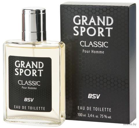 """Туалетная вода для мужчин """"Grand Sport Classic"""" (100 мл) — фото, картинка"""