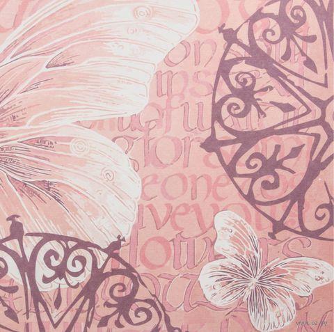 "Бумага для скрапбукинга ""Шебби-шик"" (15х15 cм; 5 шт.; арт. 124851) — фото, картинка"