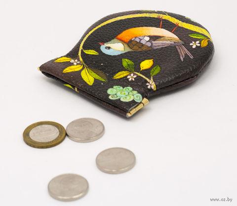 "Монетница круглая ""Птенец"" — фото, картинка"