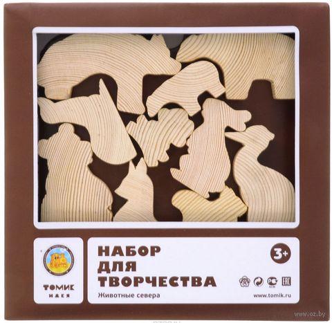 """Набор заготовок деревянных """"Животные севера"""" — фото, картинка"""