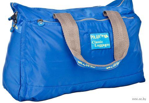 Сумка спортивная П1288-17 (22 л; синяя) — фото, картинка