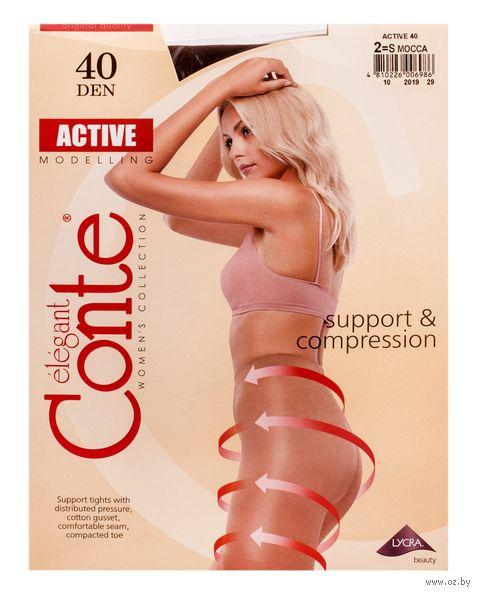 "Колготки женские корректирующие ""Conte. Active 40"" — фото, картинка"
