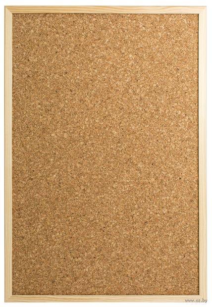 Доска пробковая (39х59 см) — фото, картинка